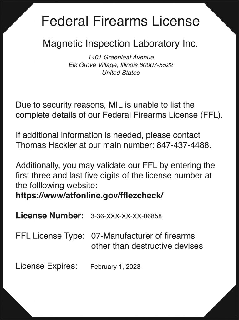 MIL - Certifications